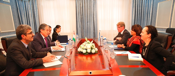 UN RC Tajikistan introductory meeting with the Ministry of Foreign Affairs of the Republic of Tajikistan